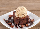 Brownie and Ice Cream